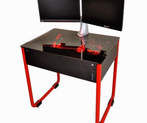 Lian-Li PC Case Doubles as a Desk