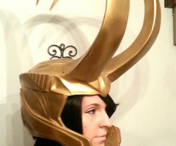 Loki Helmet Replica: Hëdgard