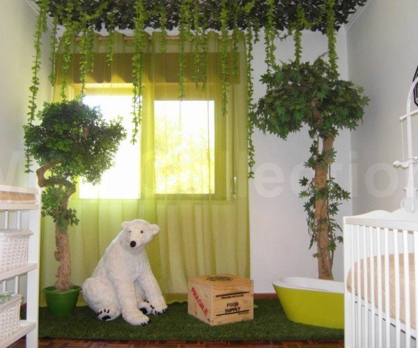 LOST Themed Baby Nursery Still Doesn't Sufficiently Explain the Polar Bear