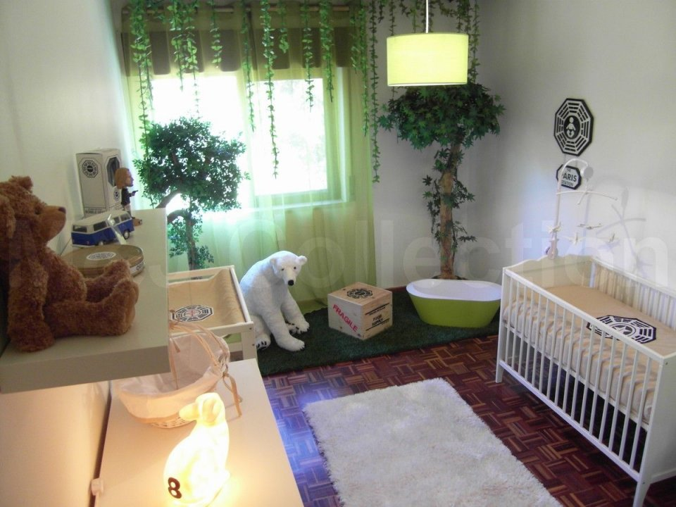 Lost Themed Baby Nursery Still Doesn T Sufficiently