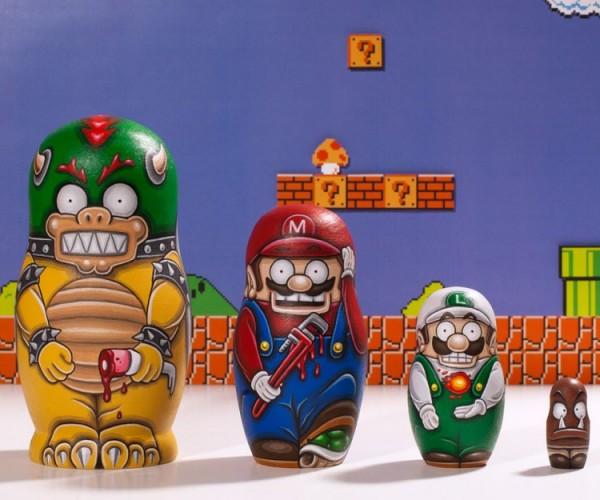 Super Mario Bros. Nesting Dolls: Marioshka