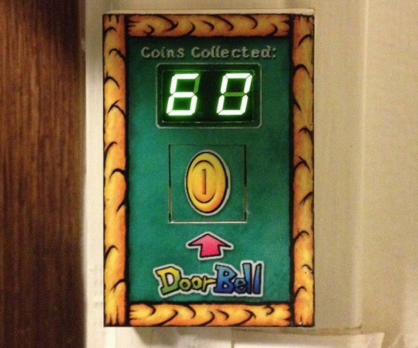 Super Mario Bros. Doorbell: Did Someone Call a Plumber?