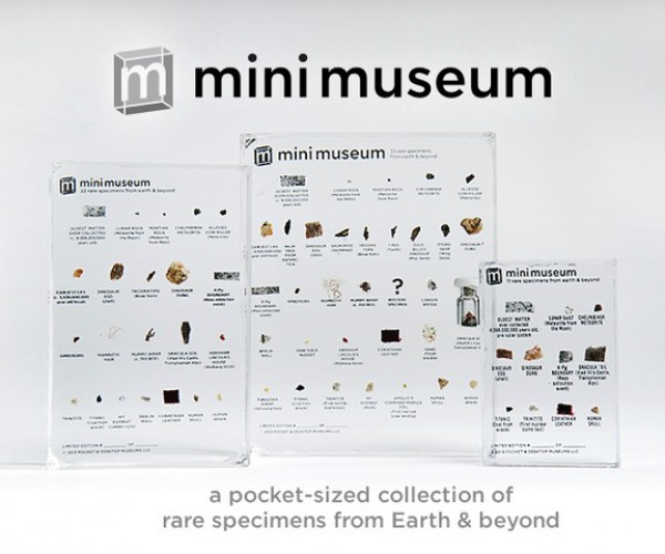 Mini Museum Contains Tiny Samples of Rare Objects: What is This? A Museum for Ants?