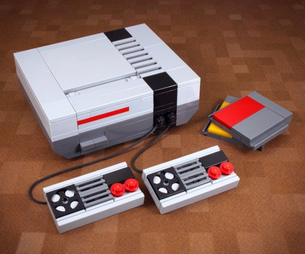 Mini LEGO Nintendo Entertainment System Kit: NES Pocket