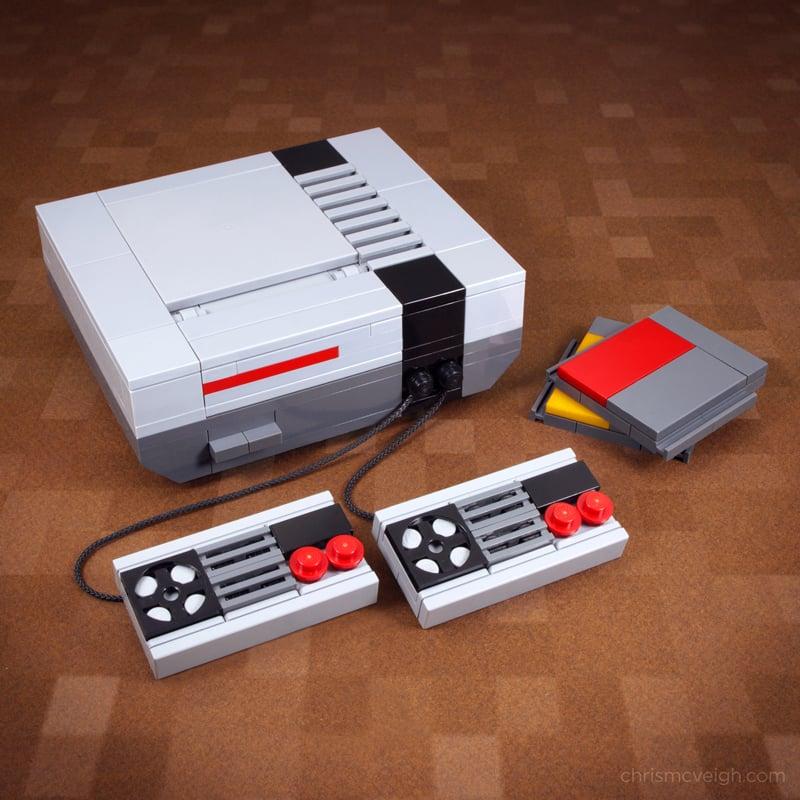 Mini LEGO Nintendo Entertainment System Kit: NES Pocket - Technabob
