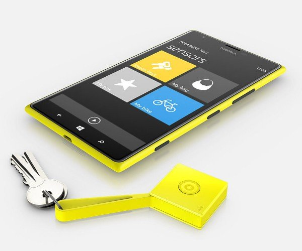 Nokia Treasure Tags Keep Track of Your Stuff