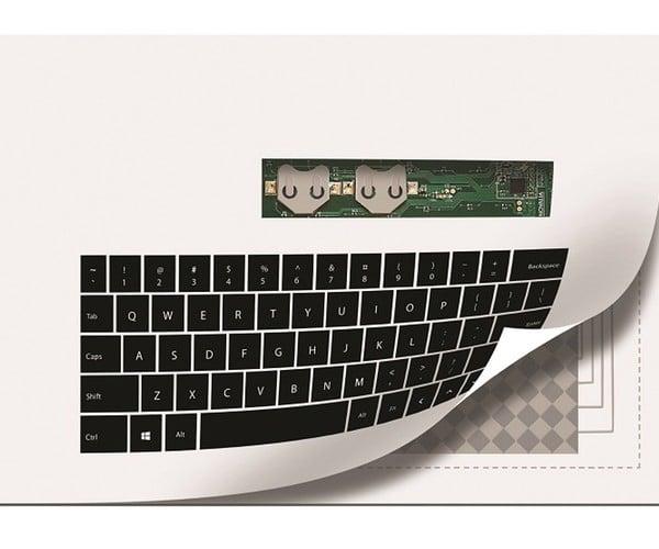 Paper-Thin Keyboard: Print and Press