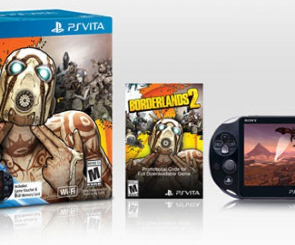 Slim PS Vita Borderlands 2 Limited Edition Bundle Heads to the US