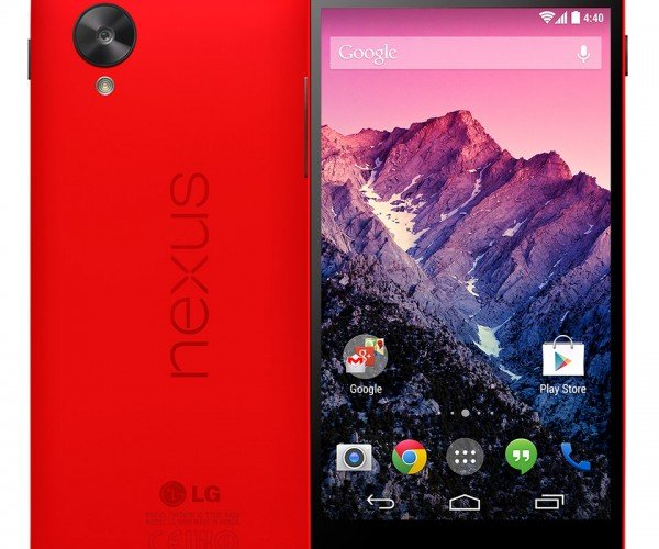Red LG Nexus 5 Lands for Valentine's Day