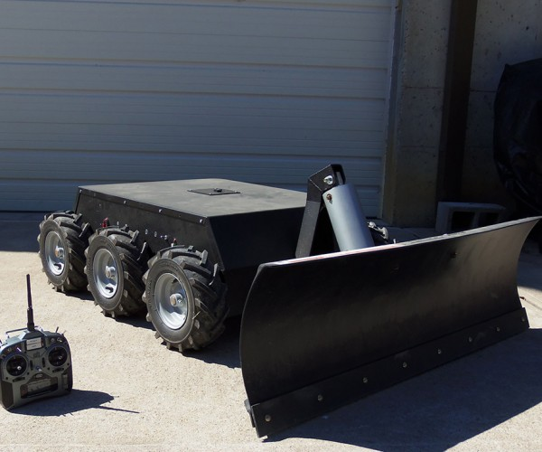 Remote-controlled Snow Plow Robot Will Also Plow Through Your Savings