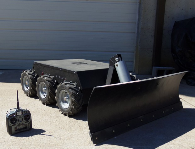 remote controlled snow plow robot by superdroid 620x474
