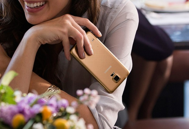 samsung galaxy s5 copper gold 620x423