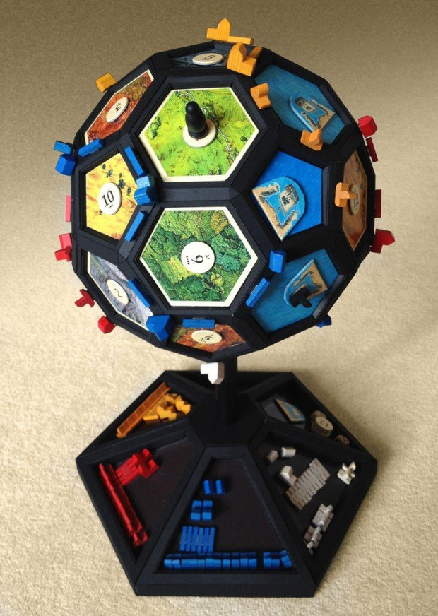 settlers of catan catanosphere by PenfoldPlant 620x872