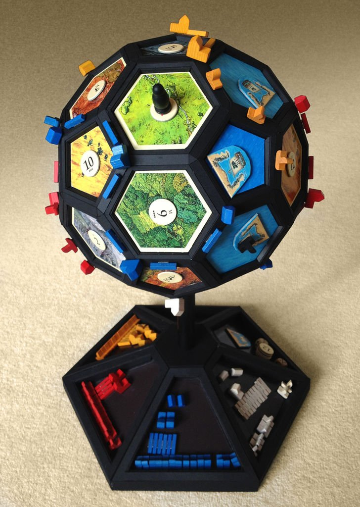 It is a picture of Mesmerizing Settlers of Catan Printable