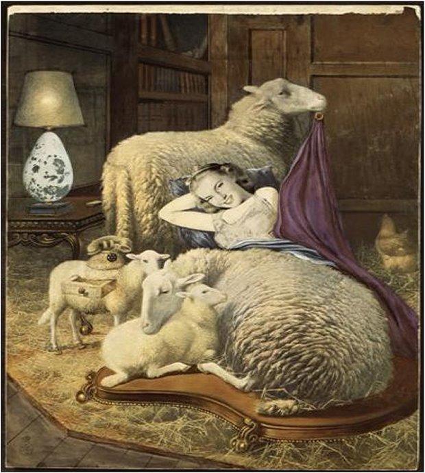 sheep cabinet1