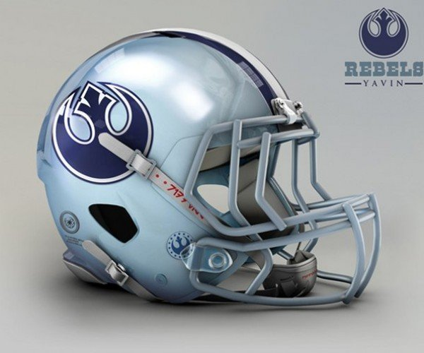 Star Wars NFL Helmets: Use Defense Luke!