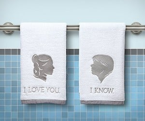 "Empire Strikes Back ""I Love You, I Know"" Hand Towels"