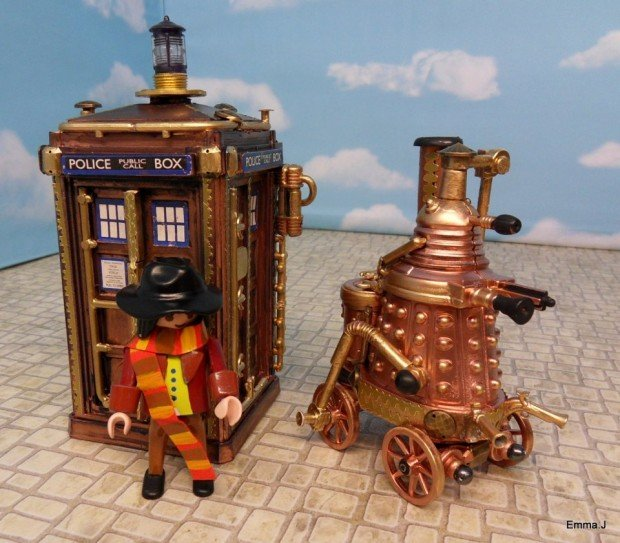steampunk doctor who 620x543