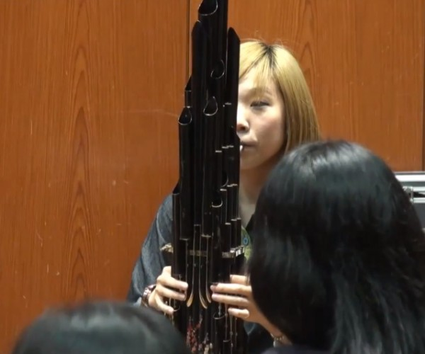 Super Mario Bros. Theme on a Classic Chinese Instrument: Shengtune