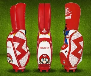 Official Mario Golf Bags: Par 1up