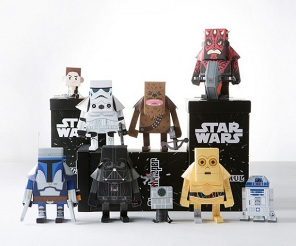 Amazing Star Wars Papercraft Toys: Use the Glue, Luke