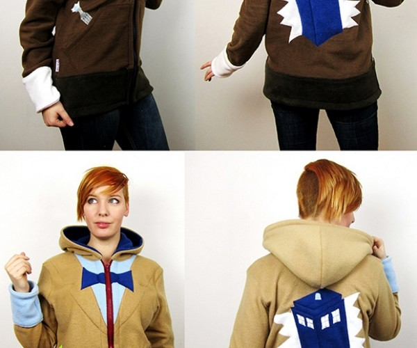 Doctor Who TARDIS Hoodies: Warmer on the Inside