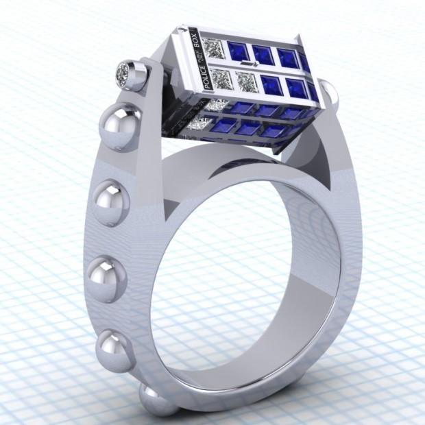 tardis ring