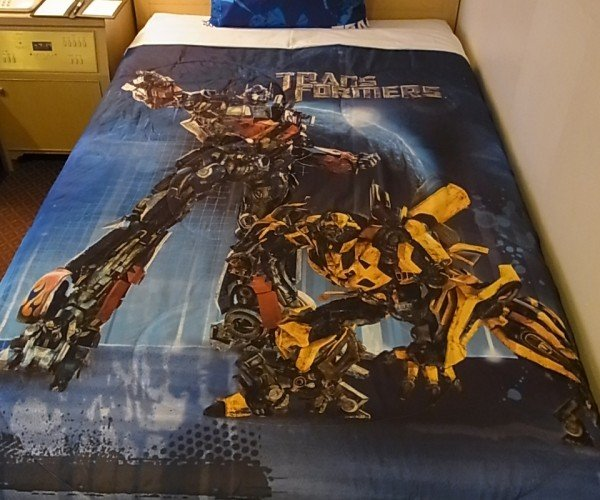 Transformers Themed Hotel Room: Do Autobots Deliver Room Service?