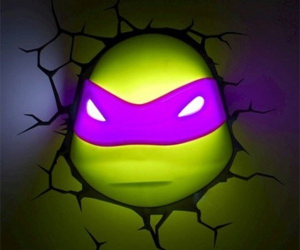 Ninja Turtles 3D Nightlight: Cowabunga Dude!
