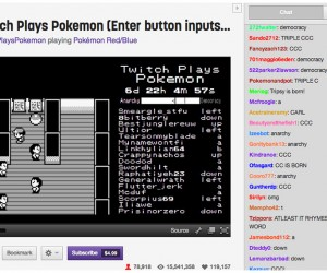 75,000+ People Are Playing a Game of Pokémon: MMOkémon