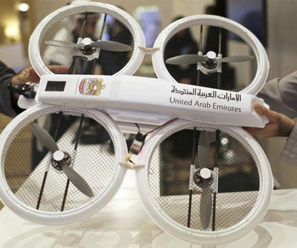 Drones with Retina Scanners to Deliver Government Documents in Dubai