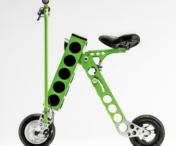 URB-E Folding Electric Bike: Ridin' Nerdy