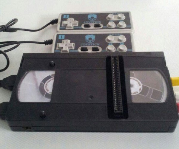 NES in a VHS Tape: VideoTendo 2000