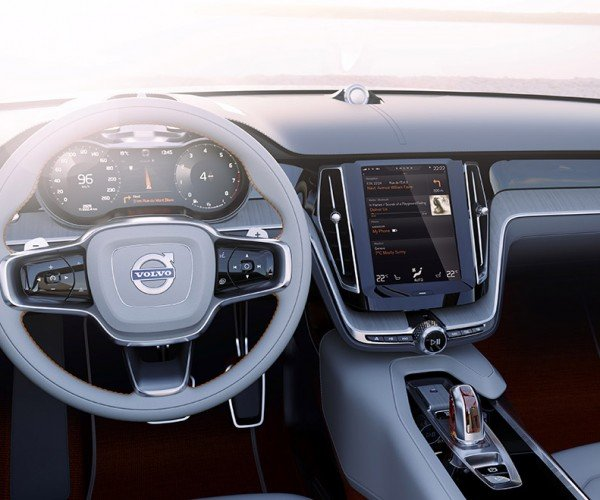 Volvo Brags About New In-Car Experience Using a Large Touchscreen in the Dash