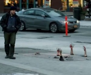 The Walking Dead Grate Prank was a Great Prank