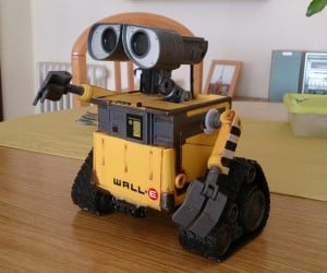 Wall-E Toy Robot Mod Adds Voice Recognition & Proximity Sensors
