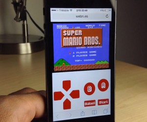 WebNES Runs NES Games on Mobile Device Browsers: Free from Jailbreak