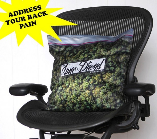 weed pillowcase