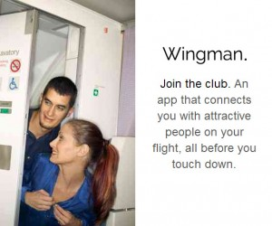 'Wingman' App Gives You a Shot at Joining the Mile-High Club