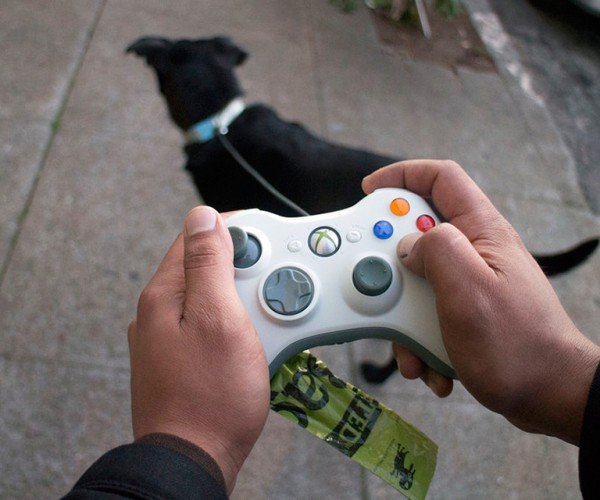 Xbox 360 Controller Dog Leash: Pet Simulator