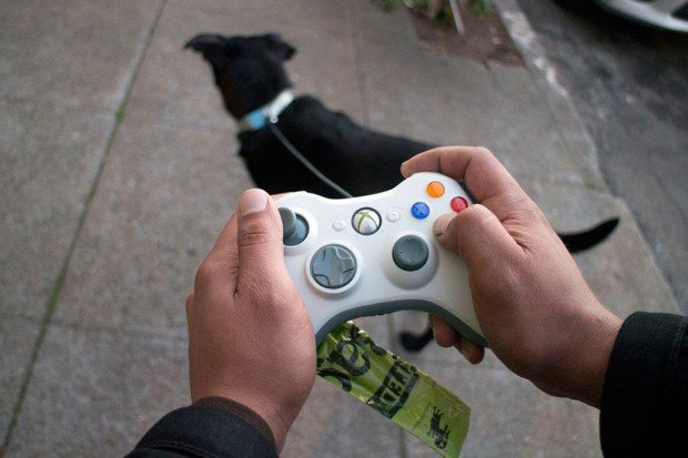 xbox 360 controller dog leash by mike warren 620x413