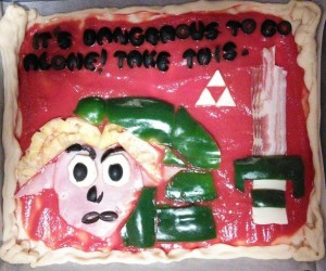 Legend of Zelda Pizza: A Link to the Pepperoni