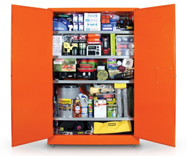 The $14,000+ Zombie Apocalypse Survival Cabinet