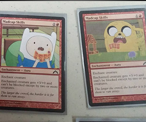 Adventure Time Magic: The Gathering Deck: Unflooped