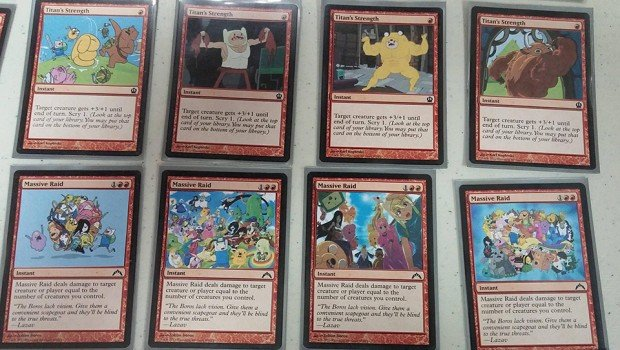adventure time magic the gathering deck 6 620x350