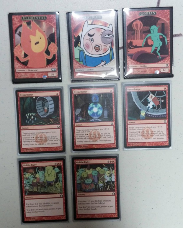 adventure time magic the gathering deck 620x773