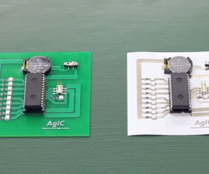 AgIC DIY Kit Lets You Print Circuit Boards on Ink Printers: Agical!
