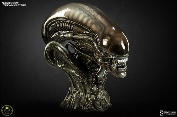alien legendary scale big chap bust by sideshow collectibles 7 620x413
