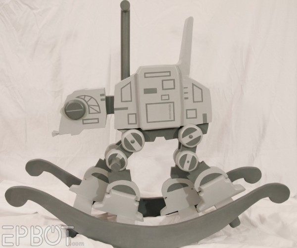 Get out Your Tow Cables, the AT-AT Rocking Horse Is Finished