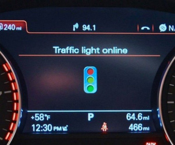 Audi Says Traffic Light Recognition System Could Save Tons of Fuel